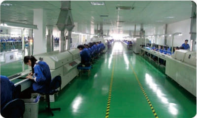 standard production facilities of Everlight Manufacturing one of best LED lighting companies, manufacturers and suppliers in China