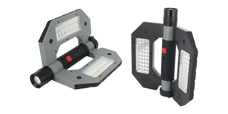 Compact Folding LED Worklight ELM-8194, multi-functional
