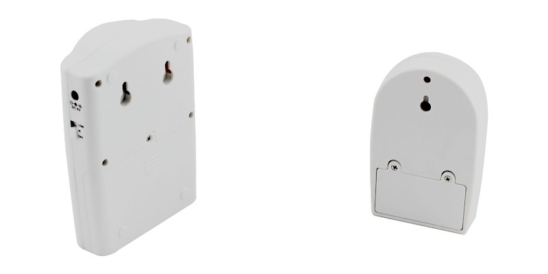 Wireless Security Alarm Package ELM-8178 Back
