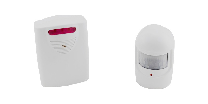 Wireless Security Alarm Package ELM-8178 Front