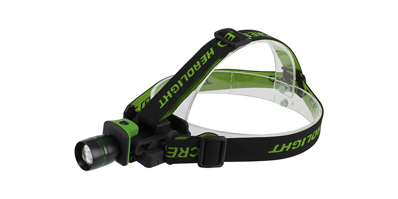 Green CREE LED Headlamp ELM-8143
