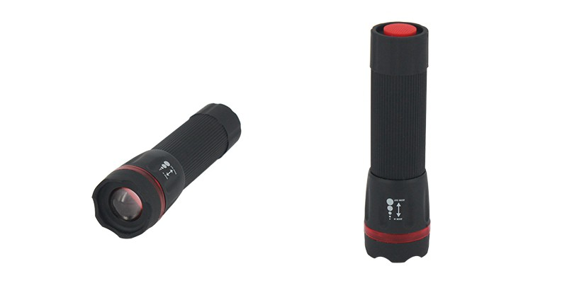 LED Focusable Flashlight Torch ELM-8148