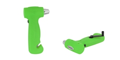 Emergency Hammer ELM-8033 FD, 3 LED dynamo flashlight with lifesaving hammer.