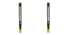 Handheld Work Light ELM-8157 FD, contracted bar build is designed to make the light fit in non-work uniforms and extremely cramped paces as well.