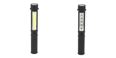 LED Pen Flashlight ELM-8197 FD, the pen light comes with integrated magnetic base and flashlight.