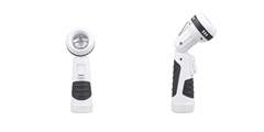 LED Swivel Head Flashlight ELM-8141 FD, designed to be the handy lighting tool with swivel head and hanging ring.