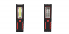 Pivoting LED Work Light ELM-8159 FD, rectangular and battery-powered multipurpose work light.