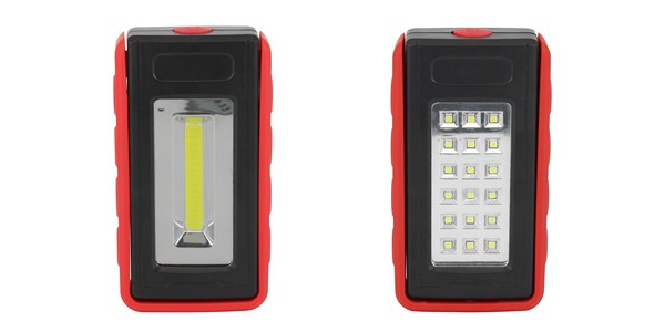 Portable Battery LED Work Lights ELM-8195, Battery Powered LED Work Lights