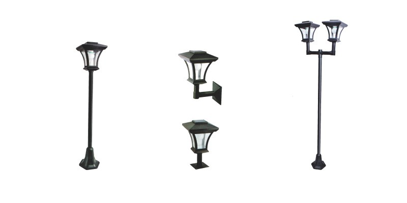 Solar Post Light ELM-8226 series