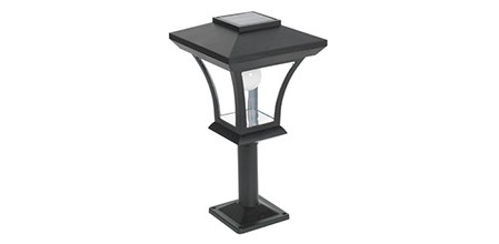 Solar Post Light Short Neck ELM-8227