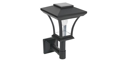 Solar Post Light 90° Neck ELM-8228
