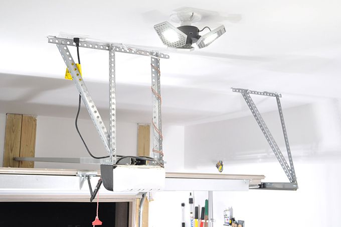 Trilight Installation - Garage Lighting Ideas